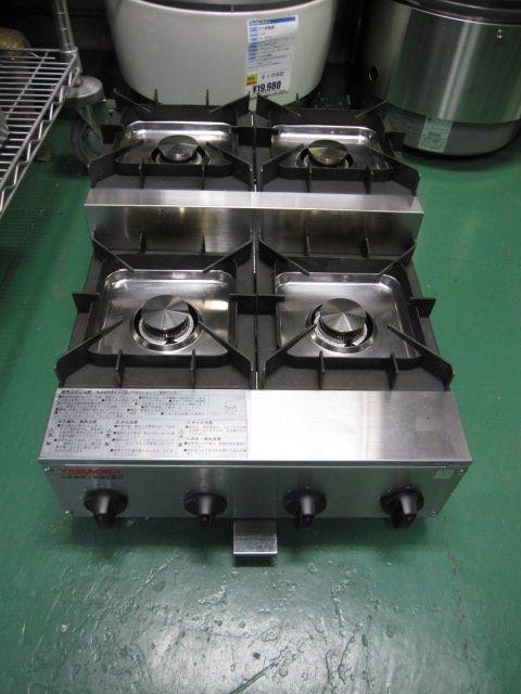 SIK 574DAN 4 三重にて、厨房機器、山岡金属工業 ガステーブルコンロを買い取りいたしました。