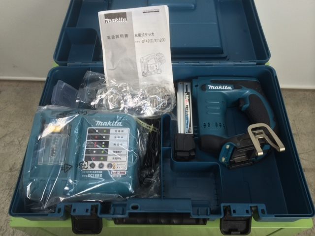 ST120DRF 三重にて、工具 マキタ 22mm 充電式タッカを買取いたしました。