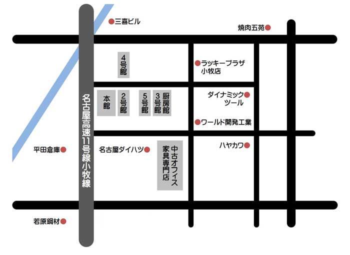 05 map 3 店舗案内