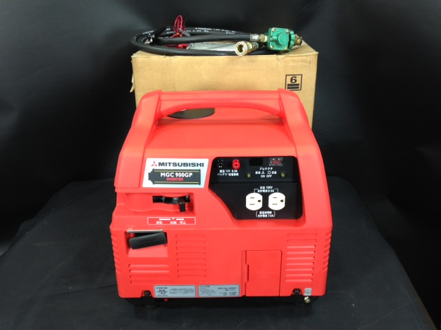 MGC900GP 三重にて、工具、 ポータブルインバーターガス発電機 MGC900GPを買い取りいたしました。