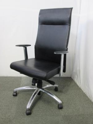 525L 三重にて、オフィス家具 LION ハイバック皮革張りチェア525Lを買取いたしました。