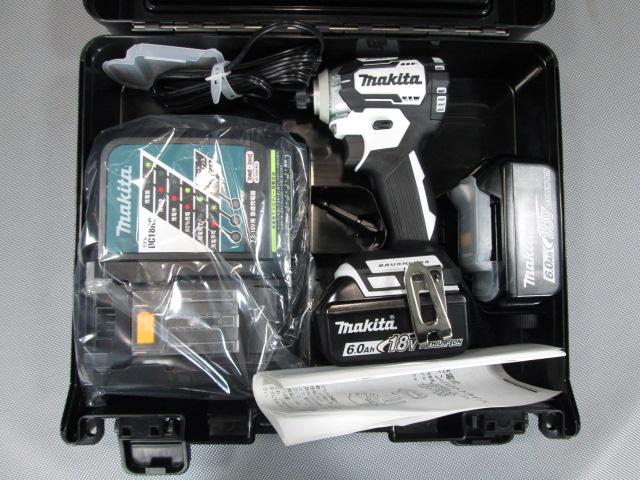 TD170DRGXW 岐阜にて 工具、マキタ 18V充電式インパクトドライバ 6.0Ah TD170DRGXWを買い取りいたしました。