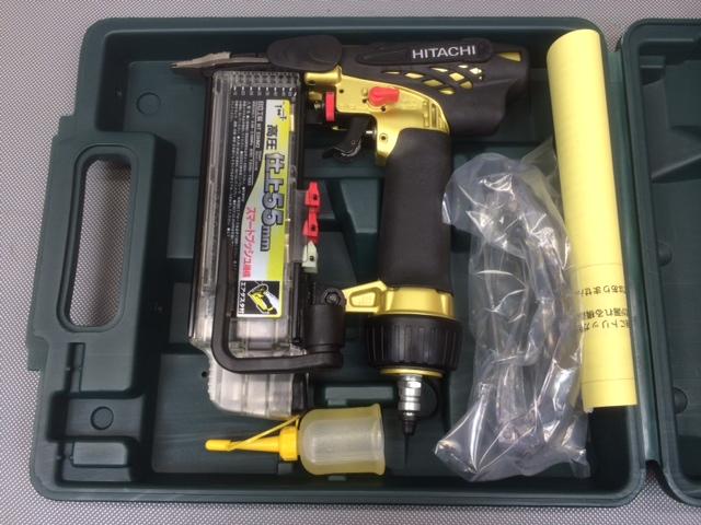 NT55HM2 岐阜にて 工具、日立 高圧仕上げ釘打ち機 NT55HM2を買い取りいたしました。