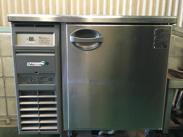 YRC 090RM 愛知にて厨房機器、福島工業 冷蔵コールドテーブル YRC 090RMを買取いたしました。
