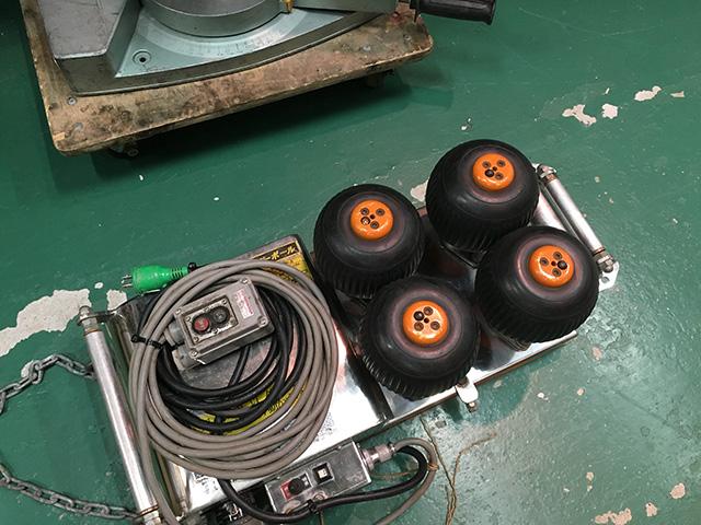 IS 160FB 4 工具 育良精機 ケーブル中間送り機「パワーボール」を高額買い取りいたしました。