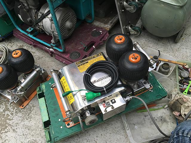 IS 160FB 工具 育良精機 ケーブル中間送り機「パワーボール」を高額買い取りいたしました。