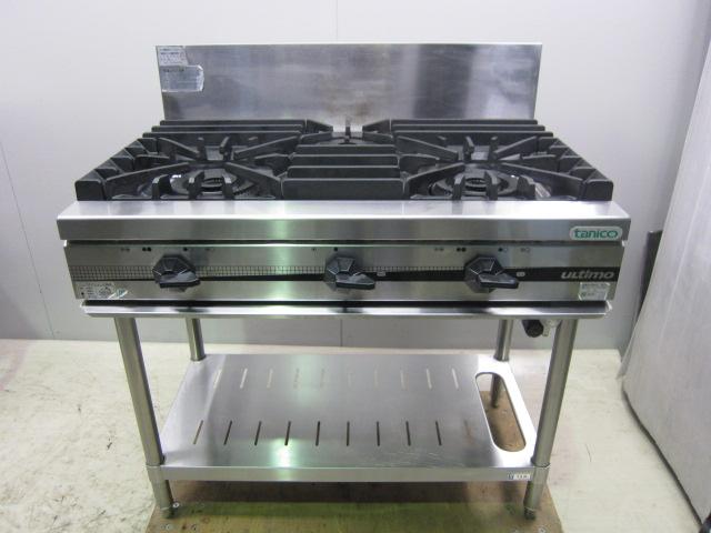 TSGT 0921 東京にて、厨房機器 タニコー 業務用ガステーブル TSGT 0921を買取いたしました。