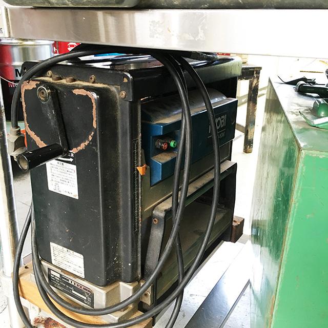 AP 10N 工具 リョービ 自動カンナ 小型自動かんな盤 AP 10Nを買い取りいたしました。
