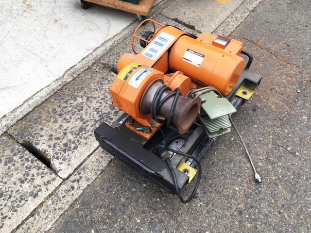 CW 1500C 岐阜にて、工具 曽根工具製作所、ケーブルウインチ CW 1500Cを買い取りいたしました。