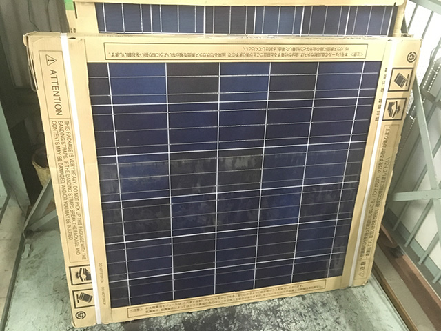 ND 163AA 工具 シャープ 太陽電池モジュール ND 163AAを買い取りいたしました。