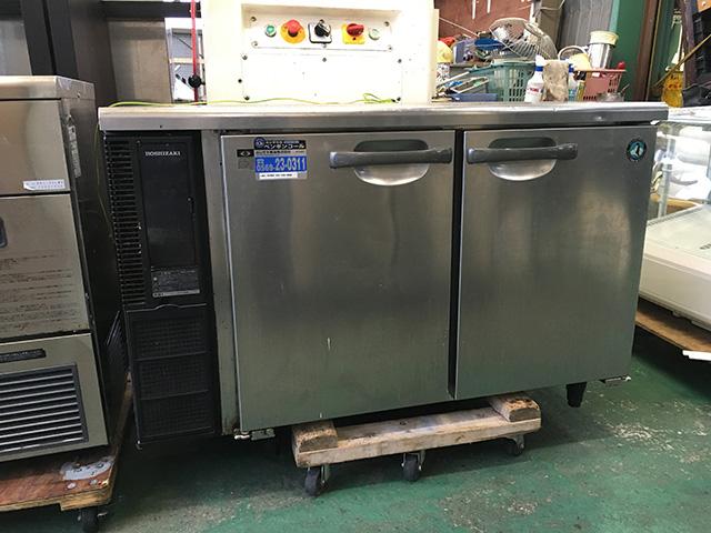 RT 120PNE1 愛知にて、厨房機器、ホシザキ電機 冷蔵コールドテーブル RT 120PNE1を買取いたしました。