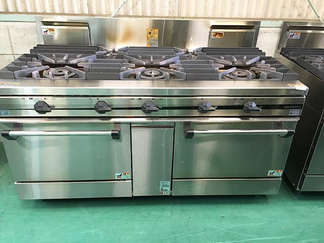 TSGR 1532A 福井にて、厨房機器、タニコー ガスレンジ「ウルティモシリーズ」多数買取いたしました。