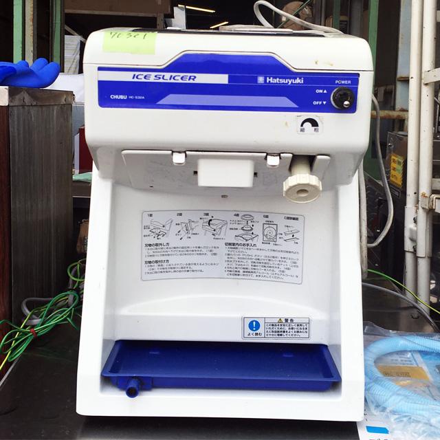 HC S32A 愛知にて、厨房機器、中部コーポレーション キューブアイススライサー HC S32Aを買取いたしました。