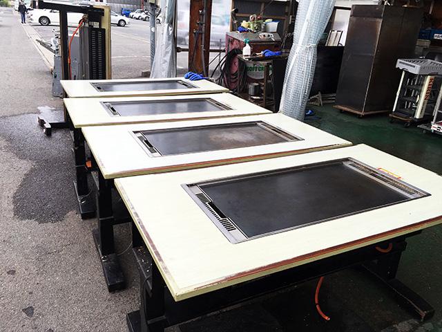 JTE T15 愛知にて、厨房機器 ジョイテック お好み焼きテーブル JTE T15買い取りいたしました。