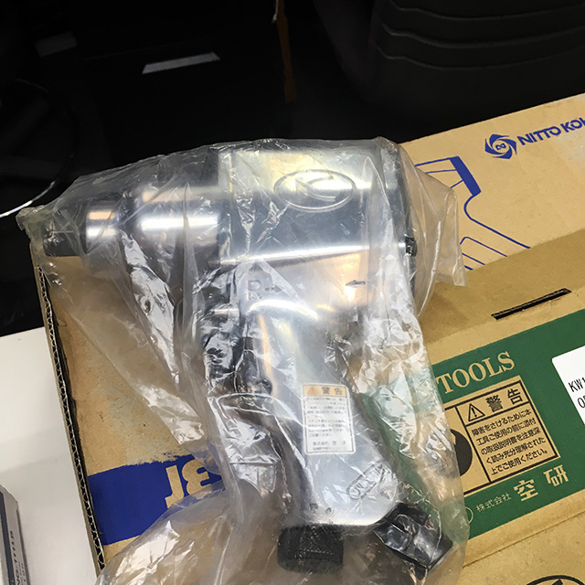 KW 19HP 岐阜にて、工具 18mmエアインパクトレンチ KW 19HPを買い取りいたしました。
