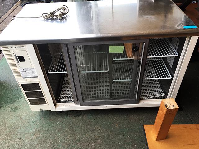 RTS 120STB2 2 愛知にて、厨房機器、ホシザキ電機 冷蔵ショーケース RTS 120STB2を入荷いたしました。