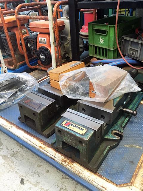 SAFEWAY 愛知にて、工具 SAFEWAY 油圧マシンバイスを買い取りいたしました。