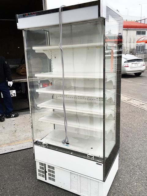 RSD TL3ZC 岐阜にて、厨房機器サンデン 多段冷蔵ショーケースをまとめて買取いたしました。