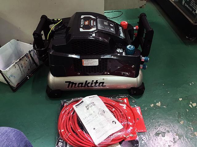 AC461XL 愛知にて、工具、マキタ エアコンプレッサー AC461Xを買取いたしました。