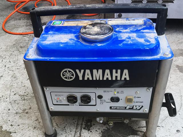 EF900FW 愛知にて、工具 ヤマハ ガソリンエンジンEF900FWを買取いたしました。