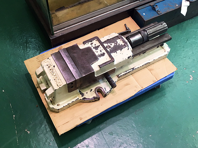 masin baisu 愛知にて、工具 津田駒工業 油圧マシンバイスを買い取りいたしました。