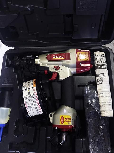 CN 450G 愛知にて、工具 MAX、兼松製釘打機を多数買取いたしました。