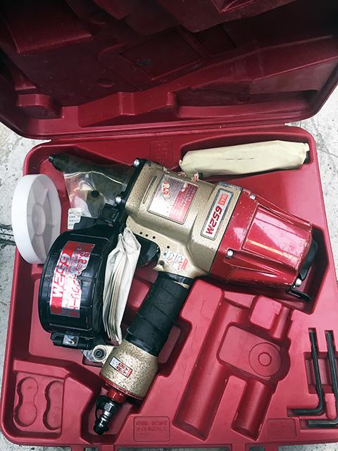 CN 652M 愛知にて、工具 MAX、兼松製釘打機を多数買取いたしました。