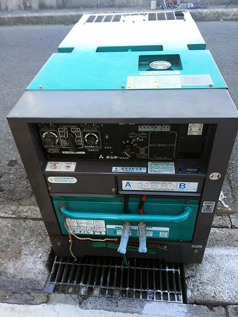 DLW 300ESW 2 岐阜にて、工具 デンヨー エンジンウェルダー発電機DLW 300ESWを買取いたしました。
