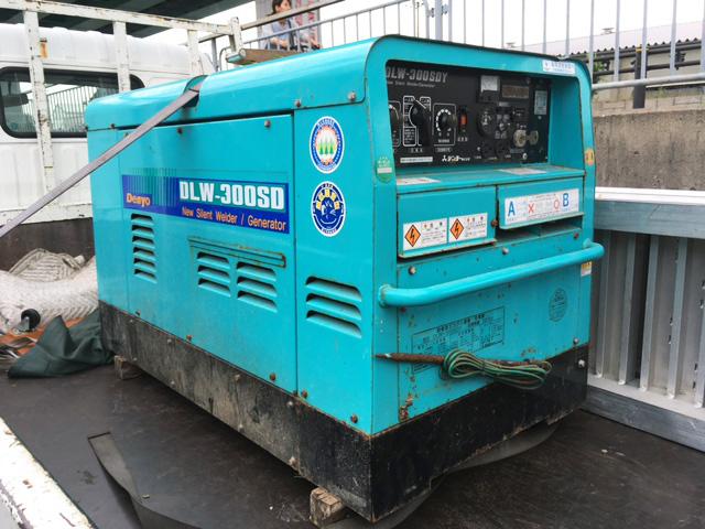 DLW 300SDY 岐阜にて、工具 デンヨー 防音型エンジン溶接・発電機DLW 300SDYを買取いたしました。