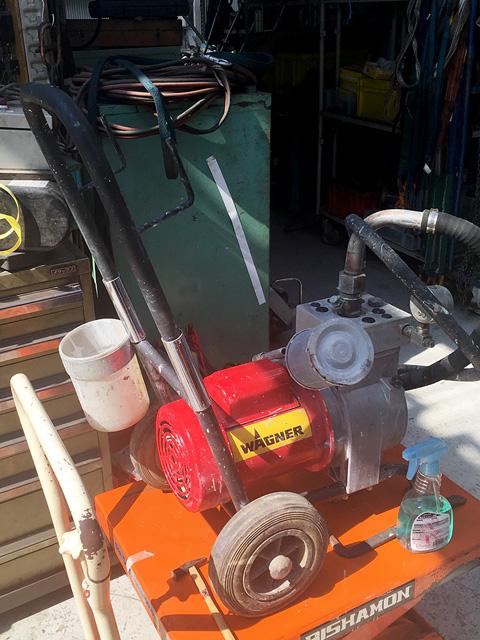F400L 愛知にて、工具 高圧洗浄機・塗装機を合わせて買い取りいたしました。