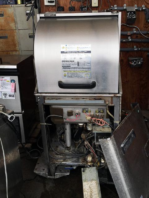 JW 450RUF3 三重にて、厨房機器 ホシザキ 業務用食器洗浄機JW 450RUF3を買取いたしました。
