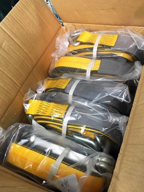 KINEDYNE PN816 愛知にて、工具 キネダイン ラッシングベルトをまとめて多数買取致しました。