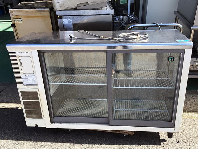 RTS 120STB1 愛知にて、厨房機器 テーブル形冷蔵ショーケースと店舗用チェアを合わせて買取いたしました。