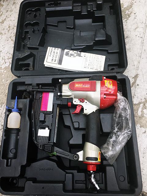 TA557F 愛知にて、工具 MAX、兼松製釘打機を多数買取いたしました。
