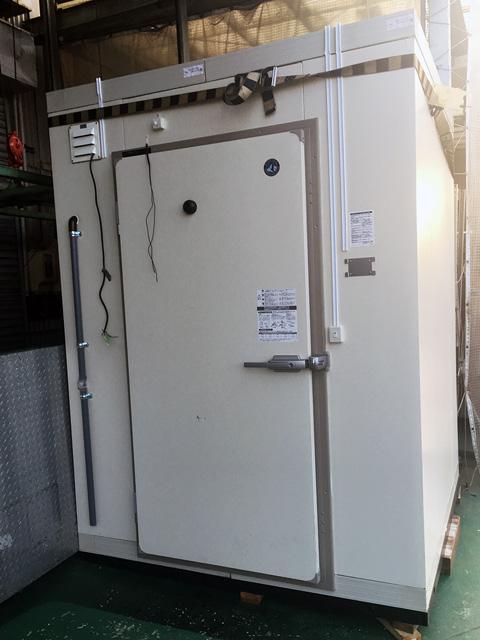 hoshizaki purehub 三重にて、厨房機器 ホシザキ一坪プレハブ冷蔵庫を買取いたしました。