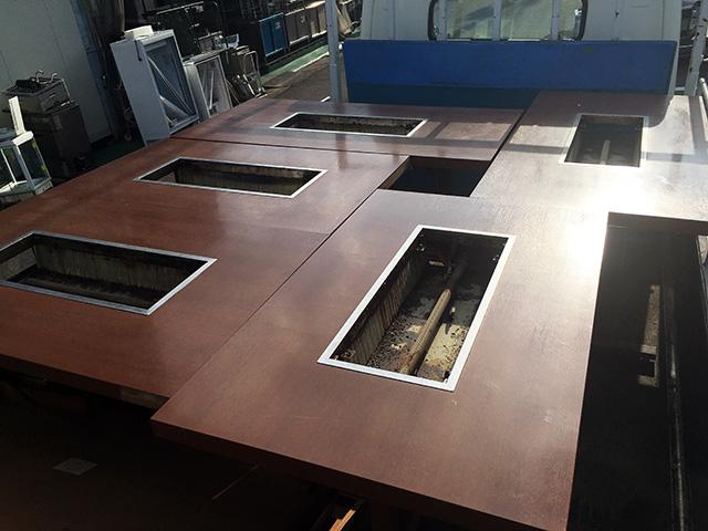 okonomiyaki table 愛知にて、厨房機器 お好み焼きテーブルをまとめて買取致しました。