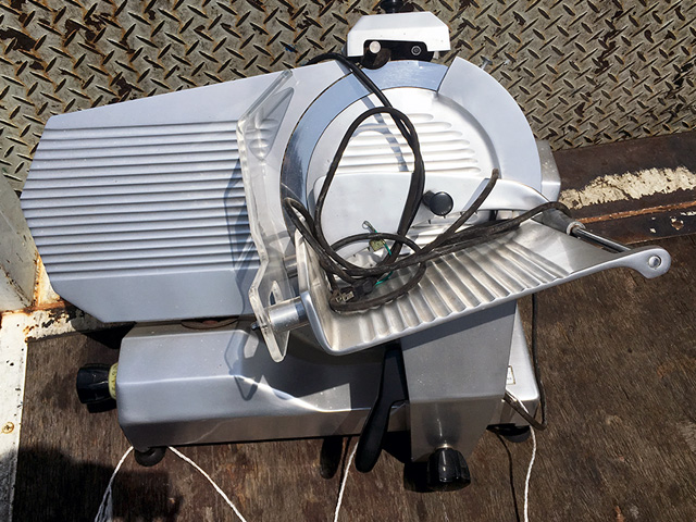ING 350 愛知にて、厨房機器 中部コーポレーション ユニバーサルスライサーING350買取致しました