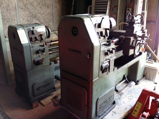 LR 55A 愛知にて、工具 ワシノ 旋盤LR 55Aを合わせて買取致しました。