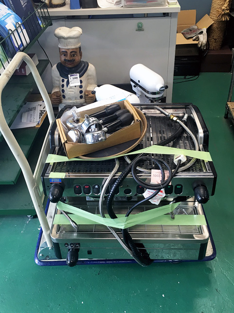 M29SELECT DT2 愛知にて、厨房機器 FMI ラ・チンバリートラディショナルマシンM29SELECT DT/2を買い取りいたしました。