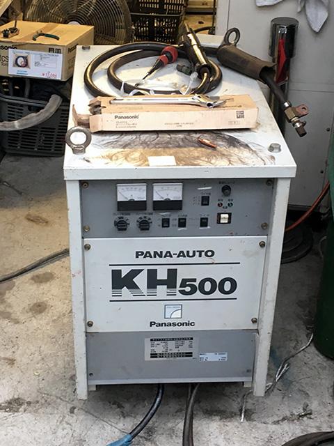 YD 500KH1 愛知にて、工具 パナソニック半自動溶接機パナオートKH500、ワイヤ送給装置を買取致しました。
