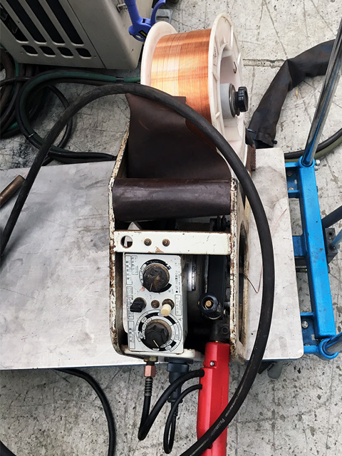 YW 50KC1 愛知にて、工具 パナソニック半自動溶接機パナオートKH500、ワイヤ送給装置を買取致しました。
