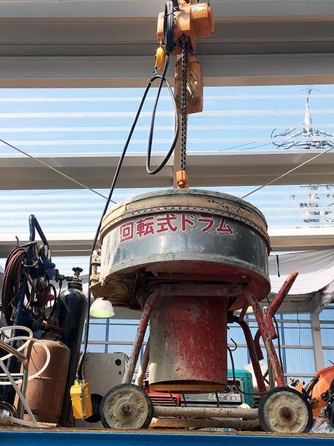 morutarumixer 三重にて、工具 東海機械製作所モルタルミキサーを買取致しました。