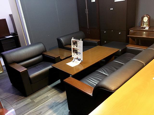 okamura S30 三重にて、オフィス家具 オカムラ 応接セットS30をまとめて買取致しました。