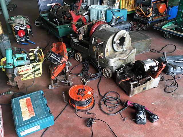 tool matomete 岐阜にて、工具 工場まとめて各種工具をまとめて買い取りいたしました。