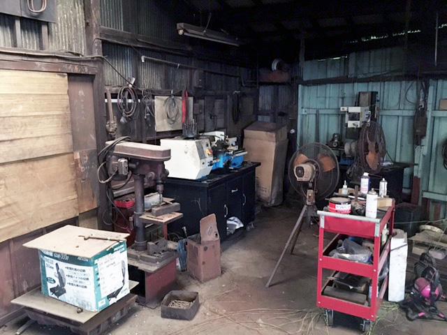 toolmatomete2 愛知にて、鉄工所で工作機械など各種工具をまとめて買取、片付けを行いました。