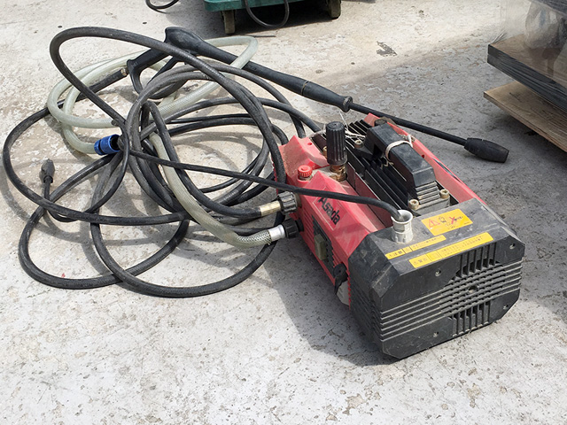 HD8560 岐阜にて、工具 アサダ高圧洗浄機ハイプレッシャークリーナHD8506を買取致しました。