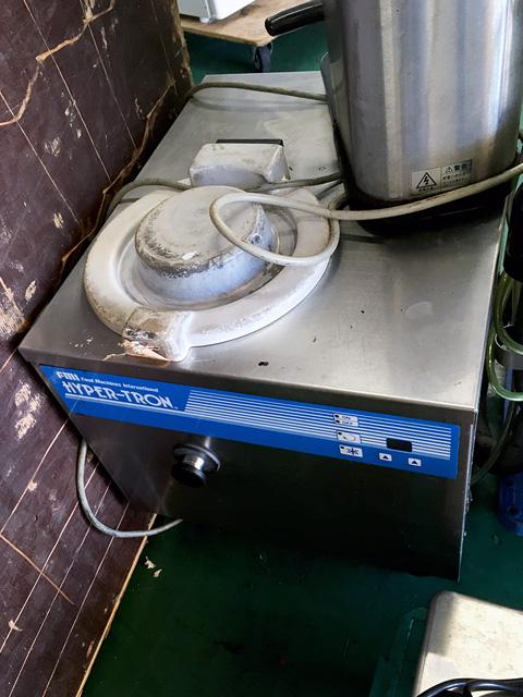 HTF 6 愛知にて、厨房機器 FMI ハイパートロンミニを買取致しました。