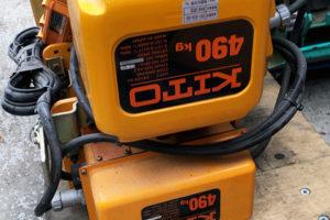 KITO IBBQ490 300x200 三重の機械工具買取実績【無限堂】