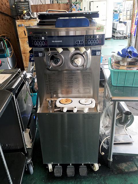 NA 6448WE 愛知にて、厨房機器 ニッセイソフトクリームサーバーNA 6448WEを買取いたしました。
