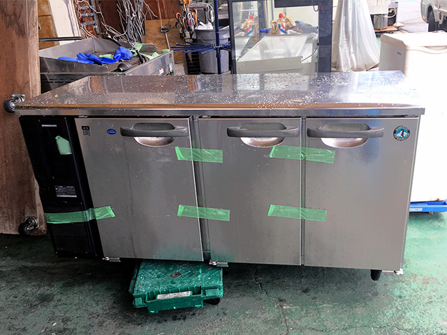 RFT 150PNE1 岐阜にて、厨房機器 ホシザキ冷凍冷蔵コールドテーブルRFT 150PNE1を買取いたしました。